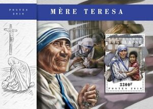 Togo-2018-MNH-Mother-Theresa-1v-S-S-Famous-People-Stamps