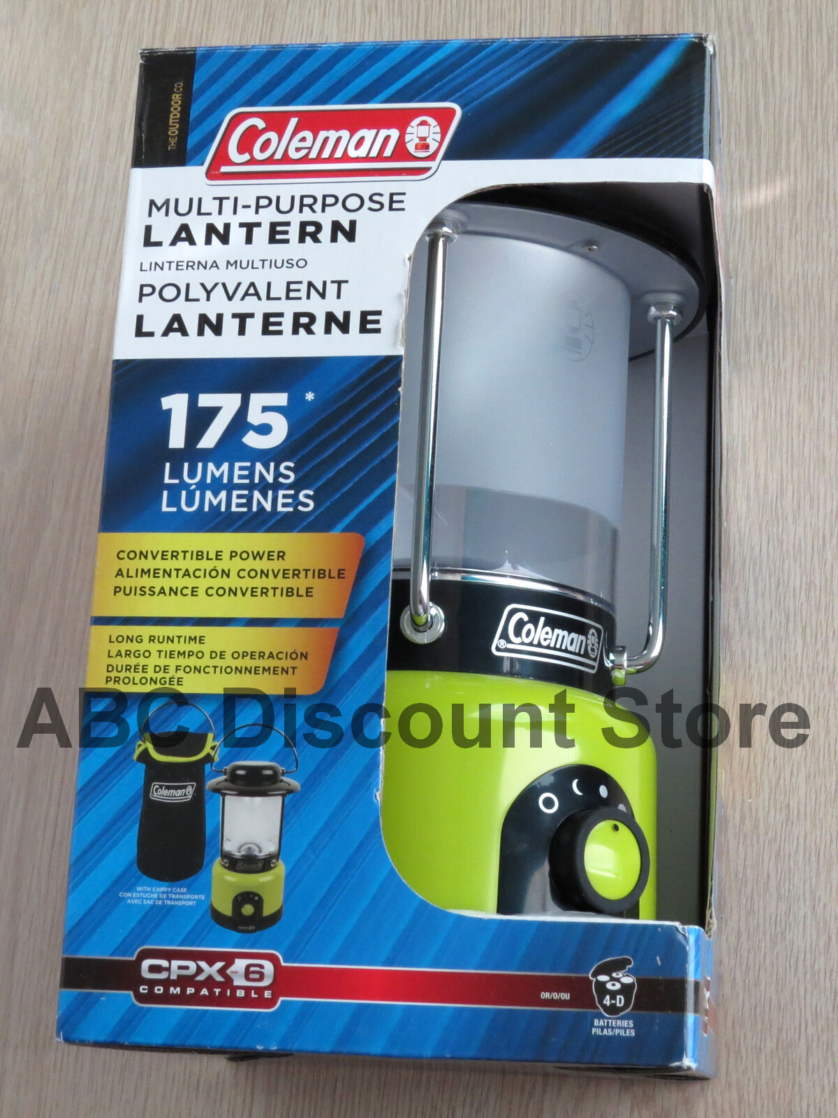 Coleman Multi-Purpose Lantern with Carrying Case - Brand New