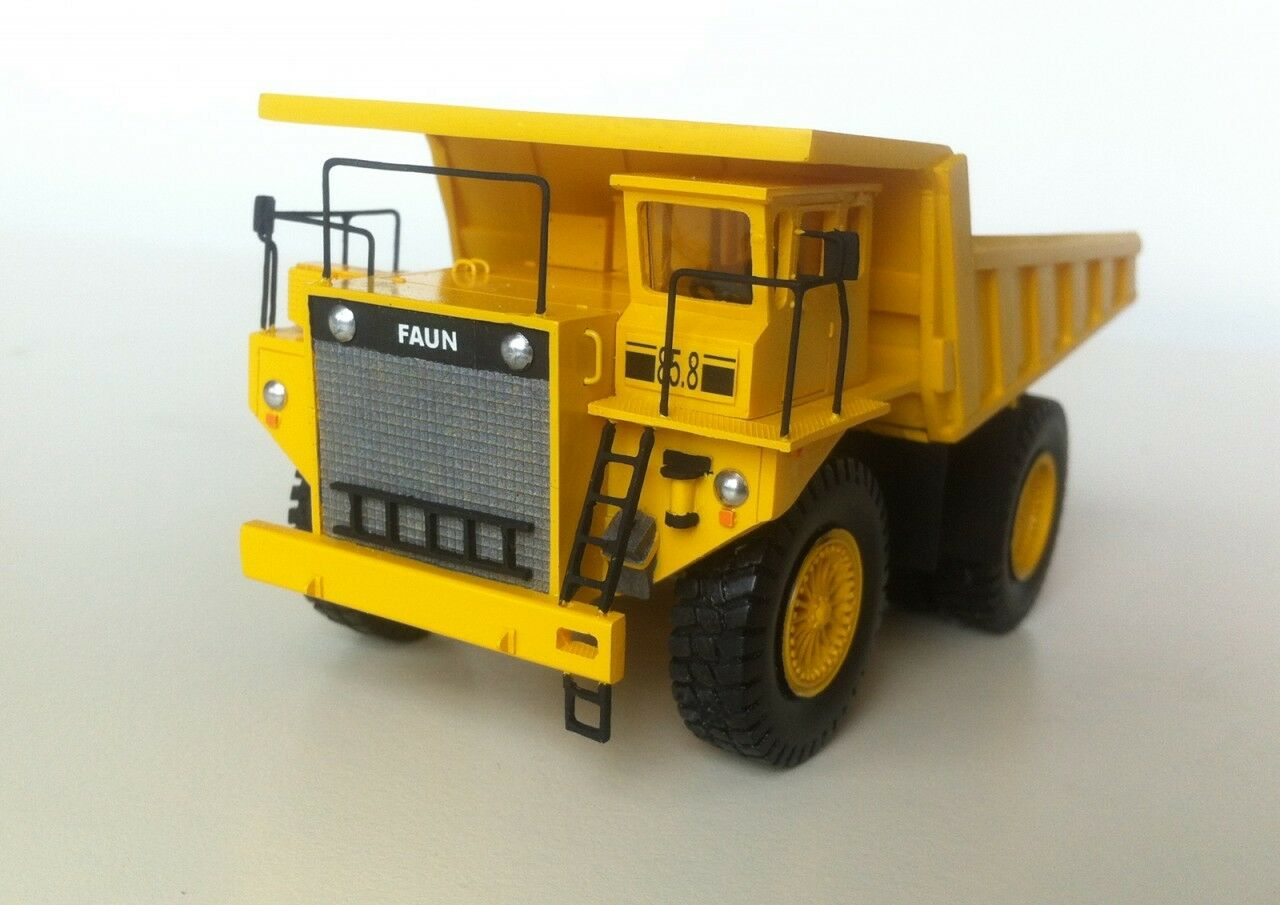 HO 1 87 Faun K85 Dumper-prêts Résine Modèle par FanKit Models