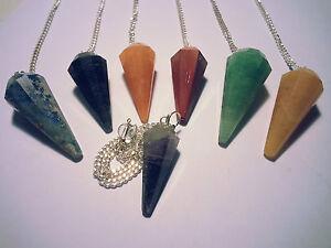 Pendel-Set-Pendular-Pendule-Pendolo-7-Chakra-7-pieces