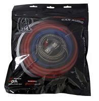 Bullz Audio 4 Gauge Car Amplifier/amp Installation Power Wiring Kit | Epak4r on sale