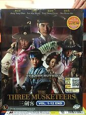 DVD Korean Drama The Three Musketeers 三劍客 Vol. 1-12END 3DVDs.. all region