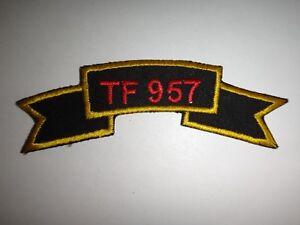 Guerra-Vietnam-Rollo-Parche-Eeuu-5th-Fuerzas-Especiales-Grupo-Task-Force-Tf-957