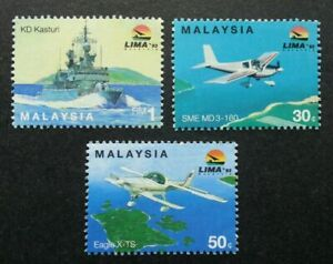 SJ-Malaysia-LIMA-Langkawi-Maritime-amp-Aerospace-Expo-1993-Aviation-stamp-MNH