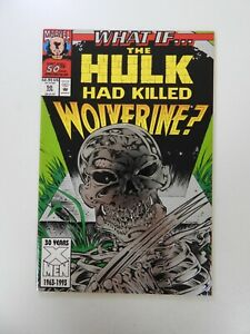 What If #50 The Hulk Had Killed Wolverine VF condition Huge auction going on now