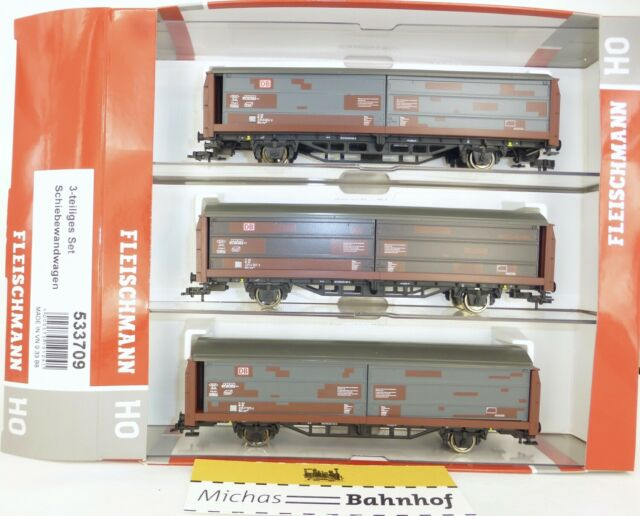 3 Schiebewandwagen Hbis 299 DB AG Fleischmann 533709 H0 1:87 NEU OVP HV4 µ*