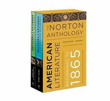 The Norton Anthology of American Literature : Beginnings to 1865 by Amy Hungerford, Michael A. Elliott, Mary Loeffelholz, Robert S. Levine and Sandra M. Gustafson (2016, Paperback)