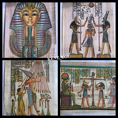 20 Egyptian Painting Papyrus Paper Authentic Book Of The Dead Anubis art//history