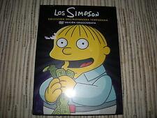 DVD PACK LOS SIMPSON 13ª TEMPORADA 4 DISCOS 25 EPISODIOS NUEVO PRECINTADO