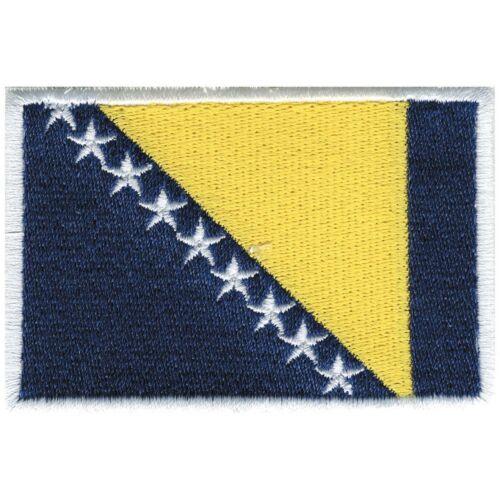 Aufnäher Applikation nähen Stick-Emblem Flaggen der Welt BOSNIEN ☆20445☆