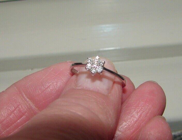 Ring, hvidguld