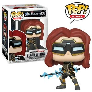 Black-Widow-Marvel-Avengers-Game-Official-Funko-Pop-Vinyl-Figure-Collectables
