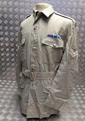 BRAND NEW Genuine British Army No3 White Dress Jacket With Belt All Sizes