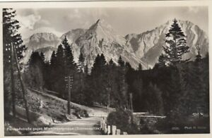 Fernpassstrasse, Tirol, gegen Miemingergruppe (Sonnenspitze) gl1925 F9875