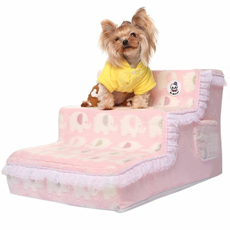 Lace Lace Lace Plush Dogs Stairs High Quality Materials Lightweight Soft Comfortable Stair fbefb1