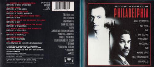 1 von 1 - Philadelphia - CD - Soundtrack - CD von 1993 - Neuwertig !