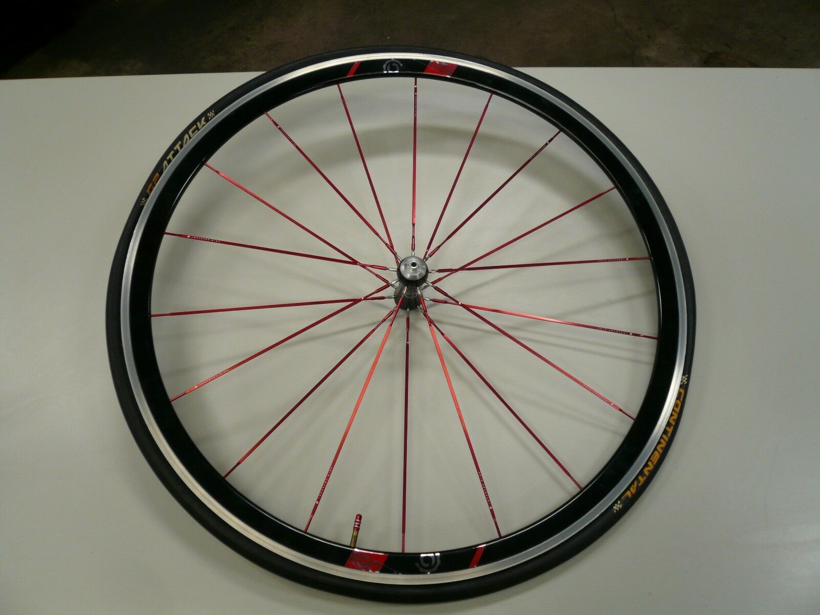 New Industry Nine 700C Ego Front Bicycle Wheel With New Continental Tire