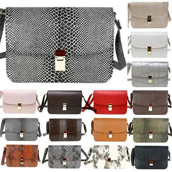 Fashion Women Handbag Shoulder Bag Messenger Hobo Bag Faux Leather Satchel Purse
