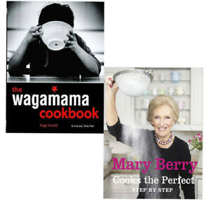 Wagamama-Cookbook-and-Mary-Berry-Cooks-The-Perfect-2-Books-Collection-Set-NEW