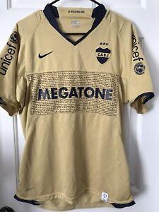d6bdb5805a1 Image is loading Boca-Juniors-Jersey-Argentina-Maradona-Messi-Riquelme- Brasil-