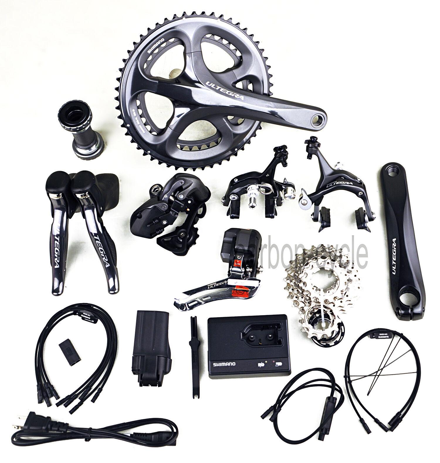 6770 Groupset Shimano Ultegra Di2 Electronic Kit Road Bicycle 170&172.5&175 10s