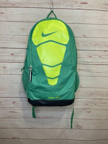 Nike Max Air Vapor Neon Green Backpack Book Bag - image 1
