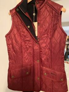 Gilet Bnwt Dark Barbour Dovecote Red Womens qwOpEaT
