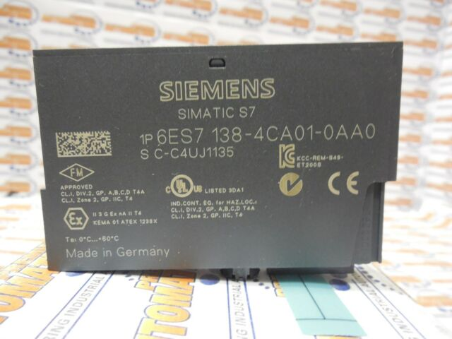 Siemens 6ES71384CA010AA0 Power Supply Module for sale online