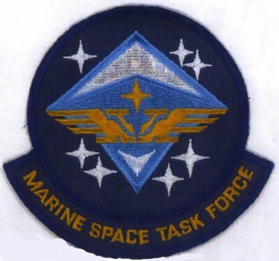 SAAB  Space: Above & Beyond Marine Space Task Force Embroidered Patch