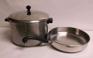 Farberware Stock Pot 8 Qt Aluminum Clad Ss W Lid 10