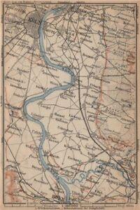 Köln Karte Deutschland.Details About The Rhine Rhein From Von Cologne Köln To Nach Bonn Deutschland Karte 1903 Map