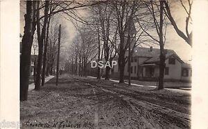 New-York-NY-Real-Photo-RPPC-Postcard-c1910-NORTH-SYRACUSE-Church-Street-Homes