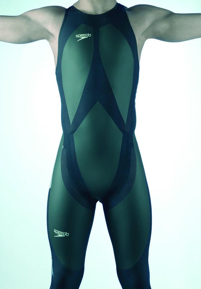 Speedo FULL BODY LZR Racer Fastskin speedsuit skinsuit recordbreaker Swimsuit Sm