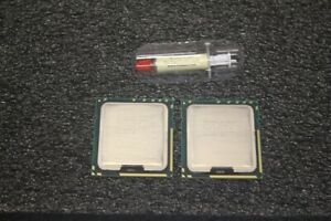 Details about PAIR Intel Xeon X5690 3 46GHz SLBVX 6 Core CPU X58 LGA1366  Processors