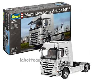 1/24 Revell MB Actros Mp3 Zugmaschine Kit de montage 07425