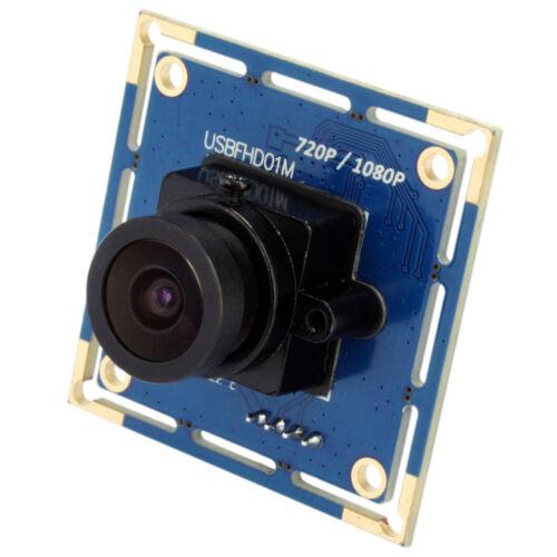 1080P 120fps USB Camera Module Board CMOS 2.1mm Lens Support IR Cut Free Driver