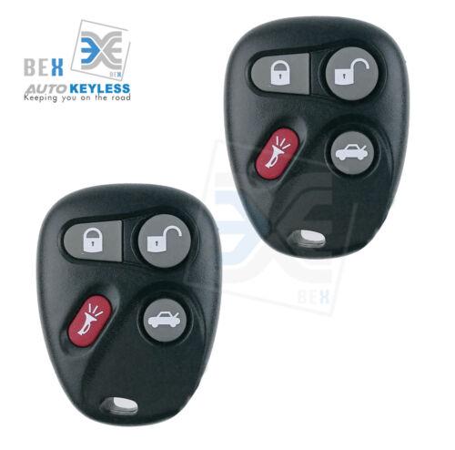 2 Replacement Keyless Remote Key Fob for 2001-2005 Pontiac Bonneville Grand Am