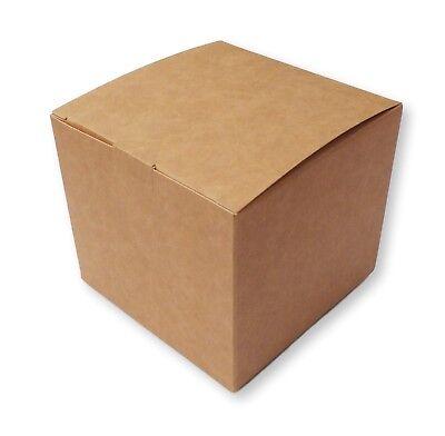 EASTER HAMPER MUG GIFTS ETC 5 SMALL EASTER EGG KRAFT BOXES CANDLE