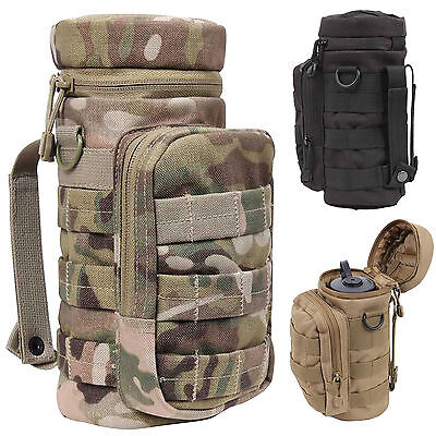 MOLLE Military Army Cadet Modular Tactical Water Bottle Canteen Pouch Holder NEW