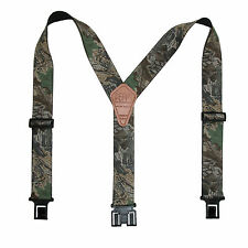 New Perry Suspenders Men's Elastic Hook End Camouflage Suspenders