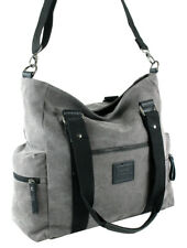 Damenhandtasche Schultertasche Umhängetasche Canvas Tasche Shopper Crossover Bag