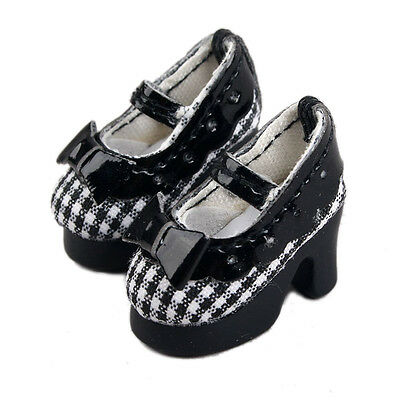 [wamami] Neo Blythe Doll Takara MMK Lati Puki Dollfie Loli Shoes Outfit Black Ch