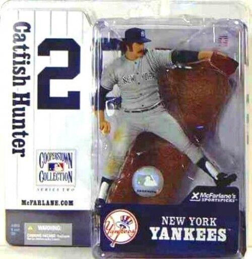 McFarlane Toys MLB Cooperstown Series 2 Jim Catfish Hunter Action Figure