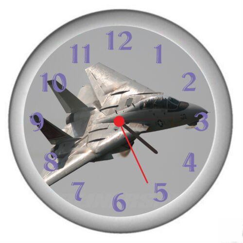 Grumman F-14 Tomcat Room Decor Wall Clock