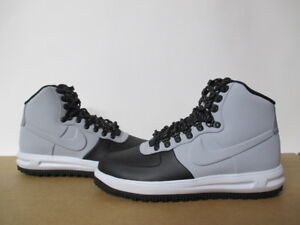 High Sz Duckboot Nike Force Black 13 Grey About Lunar 1 Wolf Details 8 Air AjL345Rq