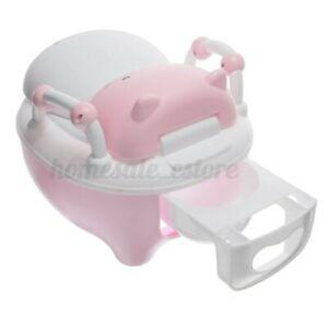 Kinder Töpfchen Training Toilette Kleinkind Junge Mädchen Stuhl Sitz Turn Bad