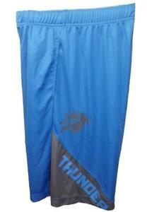 New OKC Oklahoma City Thunder Mens Sizes S-M-L-XL-2XL Blue TX3COOL NBA Shorts