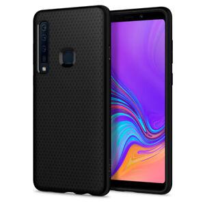 Samsung-Galaxy-A9-2018-Spigen-Liquid-Air-Black-Shockproof-TPU-Cover-Case