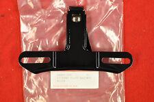 NEW 1955-72 Black 2 Hole License Plate Bracket, Panhead, Shovelhead, Sportster