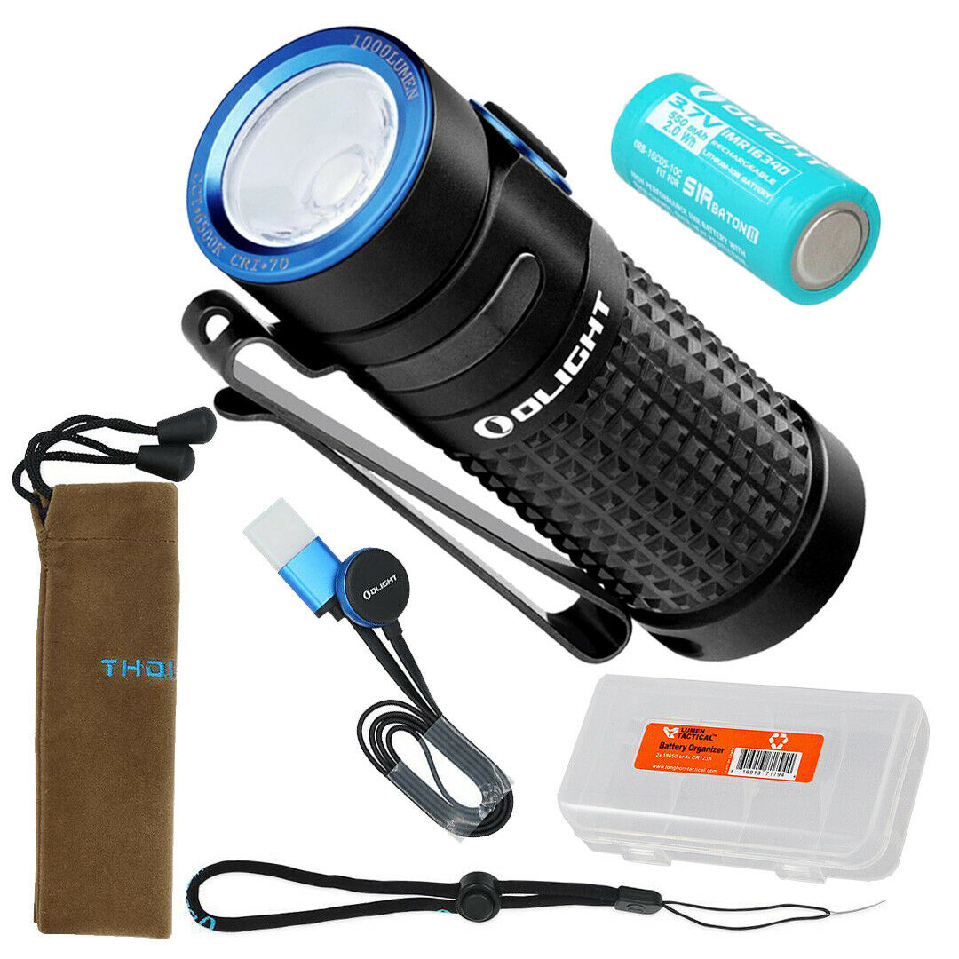 Olight S1R Baton II 1000  Lumen Magnetic USB Rechargeable Flashlight with Battery  will make you satisfied